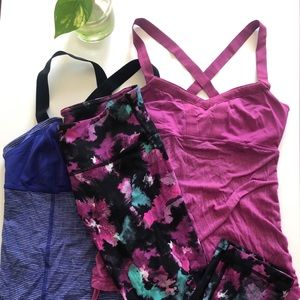 Lululemon Haul: Two Bra Tops and Crops